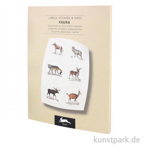 PEPIN Labels, Sticker und Tapes - Fauna