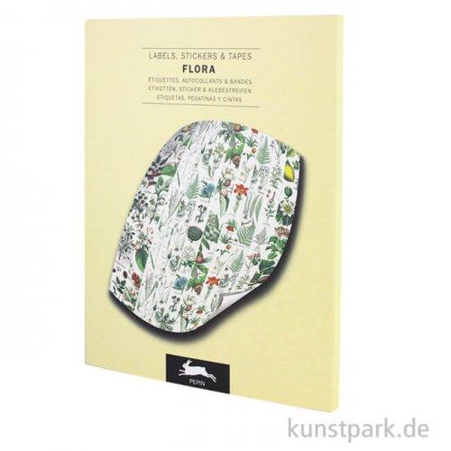 PEPIN Labels, Sticker und Tapes - Flora