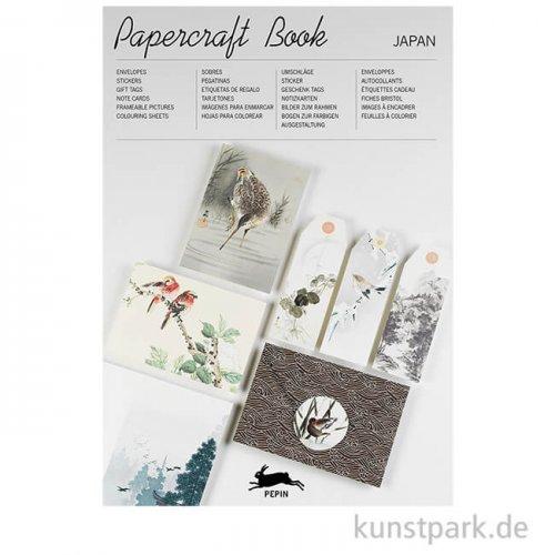 PEPIN Papercraft Buch - Japan Style, 21 x 30 cm