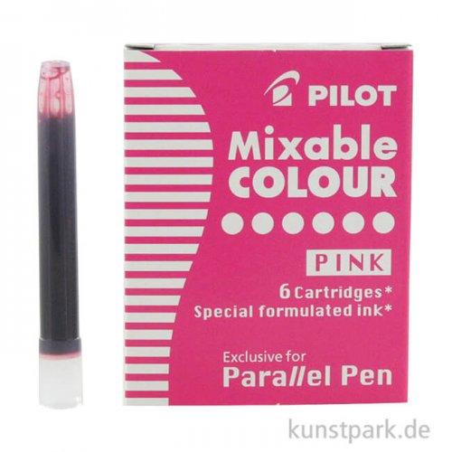 Pilot Pen Patronen 6 Stück, Farbe Rosa Pink