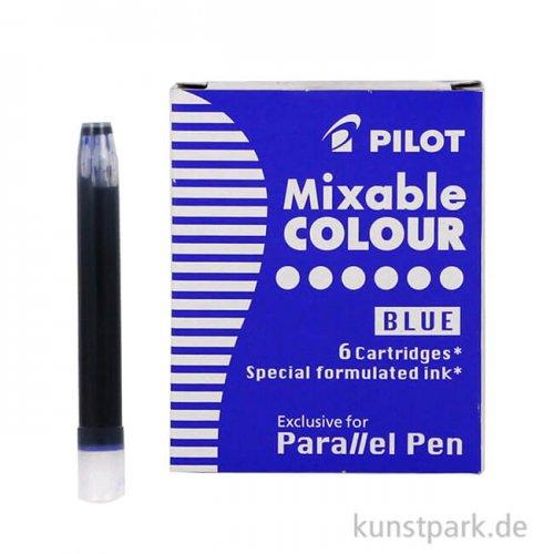 Pilot Pen Patronen 6 Stück, Farbe Blau