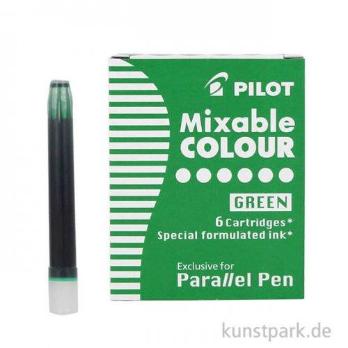 Pilot Pen Patronen 6 Stück, Farbe Grün