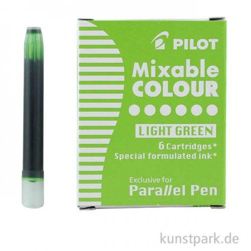 Pilot Pen Patronen 6 Stück, Farbe Hellgrün