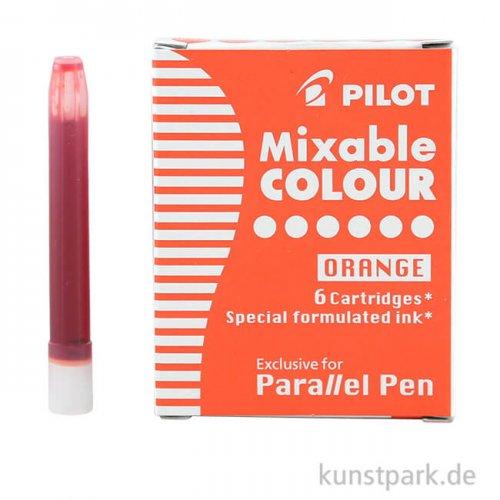 Pilot Pen Patronen 6 Stück, Farbe Orange