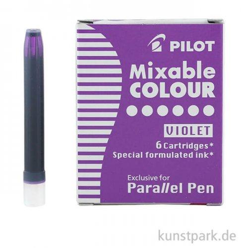 Pilot Pen Patronen 6 Stück, Farbe Violett