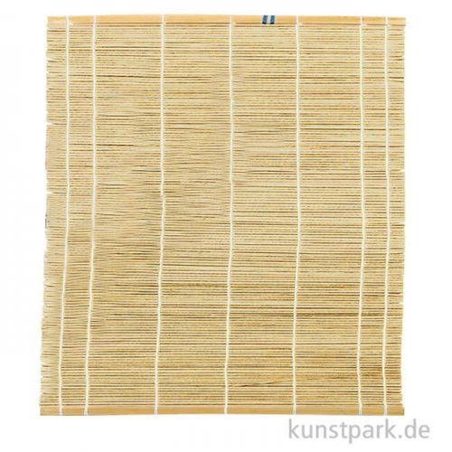 Pinselmatte aus Bambus natur, 30 x 40 cm