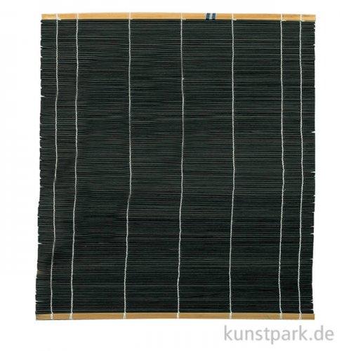 Pinselmatte schwarz 30 x 40 cm