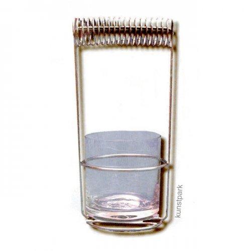 Pinselwaschbehälter aus Glas