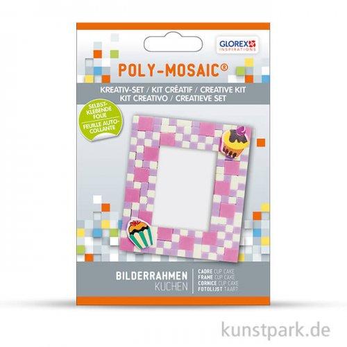 Poly-Mosaic Creativ-Set 9x9 cm Bilderrahmen mit Cakes