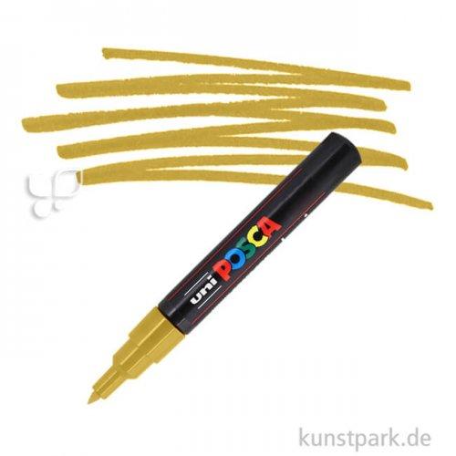 Posca Marker PC-1M - extrafein 0,7-1,3 mm Einzelstift | Gold