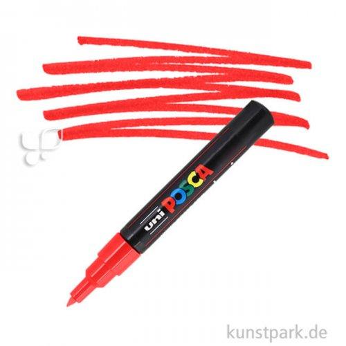 Posca Marker PC-1M - extrafein 0,7-1,3 mm Einzelstift   Rot