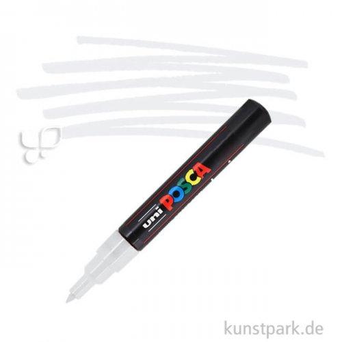 Posca Marker PC-1M - extrafein 0,7-1,3 mm Einzelstift | Weiß