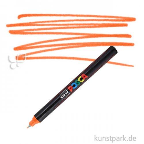 Posca Marker PC-1MR - extrafein 0,7 mm Einzelstift | Orange