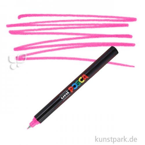 Posca Marker PC-1MR - extrafein 0,7 mm Einzelstift | Pink