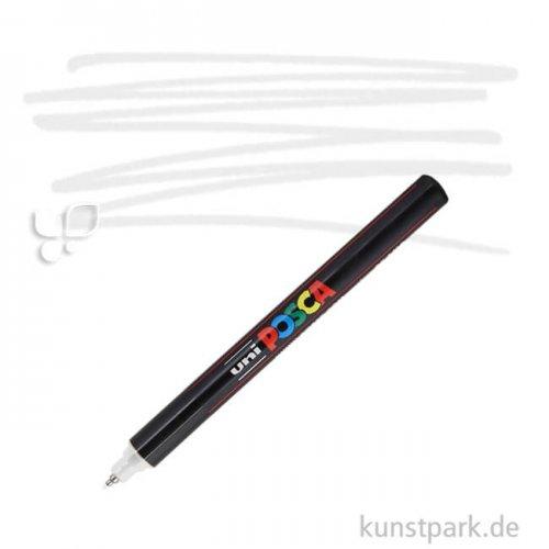 Posca Marker PC-1MR - extrafein 0,7 mm Einzelstift | Weiß