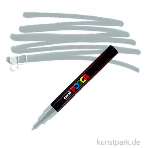 Posca Marker PC-3M - fein 1,5 mm Einzelstift | Grau