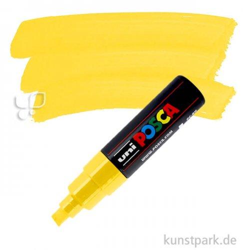 Posca Marker PC-8K - breit 8 mm Einzelstift | Gelb