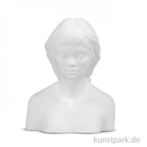 Powertex Gipsfigur Mona 10 x 13 x 6 cm