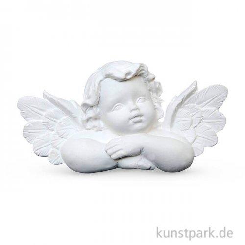 Powertex Gipsfigur schlafender Engel 7,5 x 4,5 cm