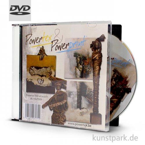 Powertex und Powerprint Anleitungs CD mit deutschen Untertiteln