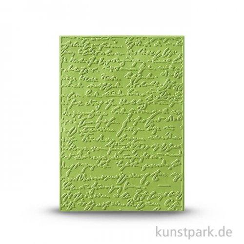 Prägeschablone Alte Schrift 2, 106x150 mm