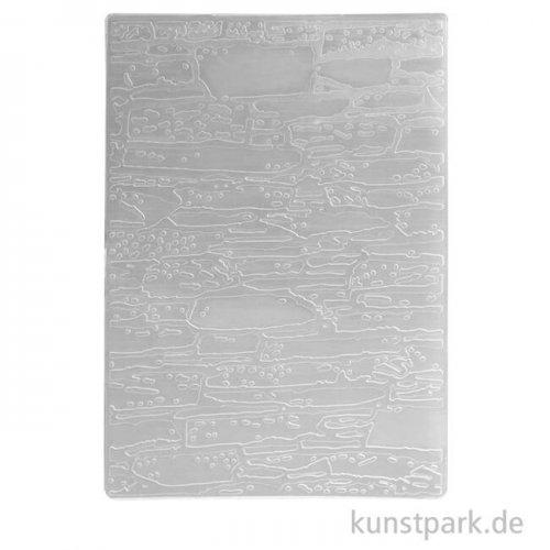 Prägeschablone Bruchsteine, 106x150 mm