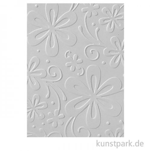 Prägeschablone Gänseblümchen, 106x150 mm
