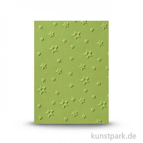 Prägeschablone Sterne, 106x150 mm