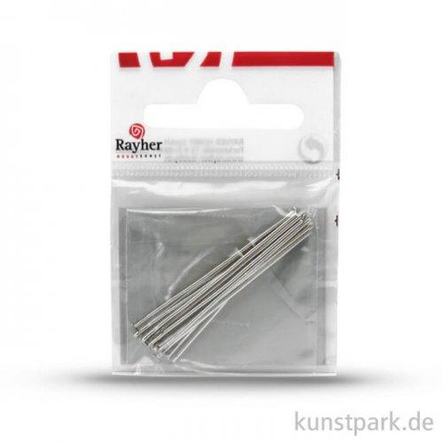 Prismenstift - Platin 0,8 mm x 40 mm - 15 Stück