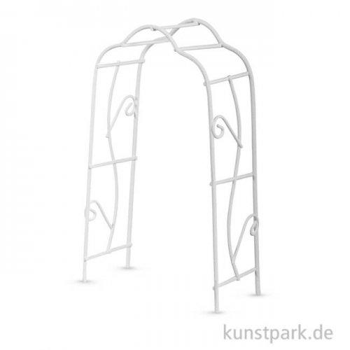 Mini Rankbogen - Weiß, 8,2x4,1x15,5 cm, 1 Stück