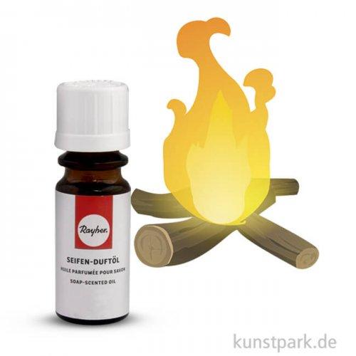 Rayher Seifen-Duftöl 10 ml Flasche | Kaminfeuer