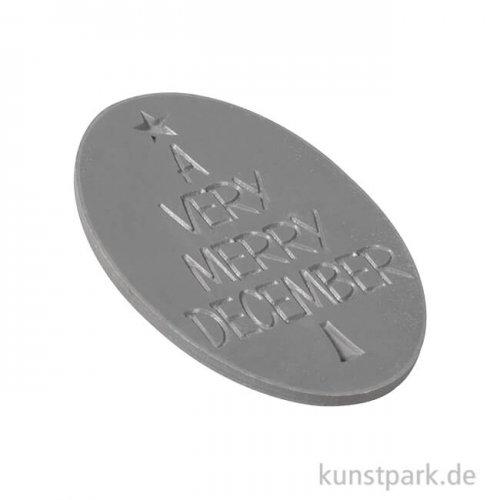 Seifenstempel - A very merry December, 50x44 mm, 1 Stück