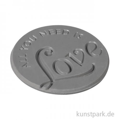 Seifenstempel - All you need is Love - 45 mm, 1 Stück