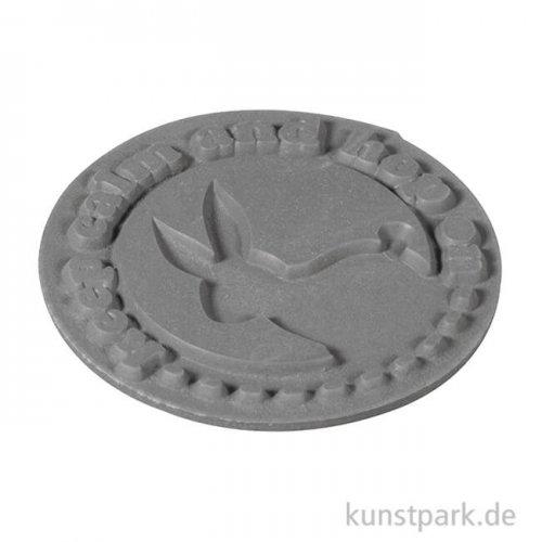 Seifenstempel - keep calm and hop on - 45 mm, 1 Stück
