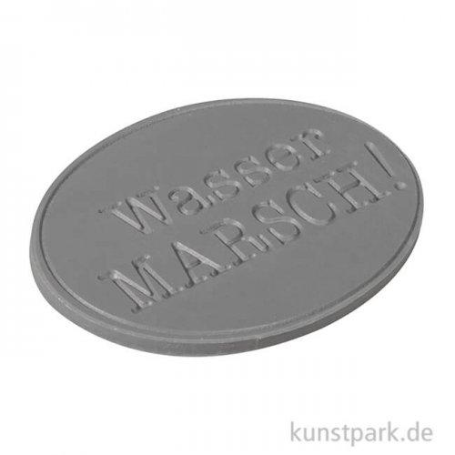 Seifenstempel - Wasser Marsch - 55x40 mm, 1 Stück