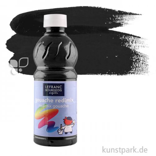 Redimix COLOR & Co. Gouache 1000 ml | 017 Schwarz