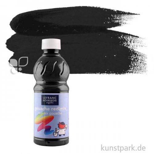 Redimix COLOR & Co. Gouache 500 ml | 017 Schwarz