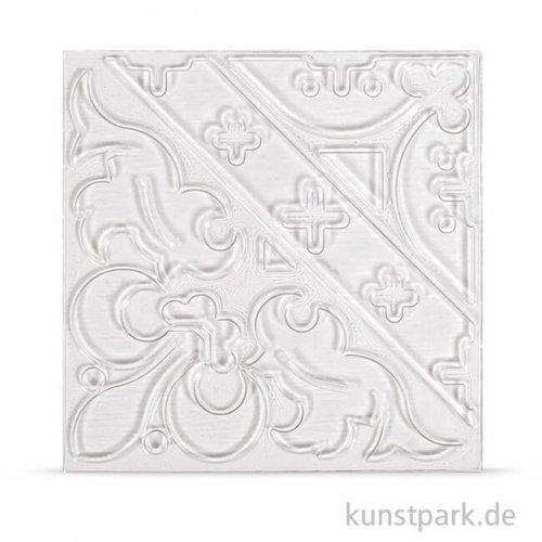 Relief-Eingießplatte für Fliese - Ornament