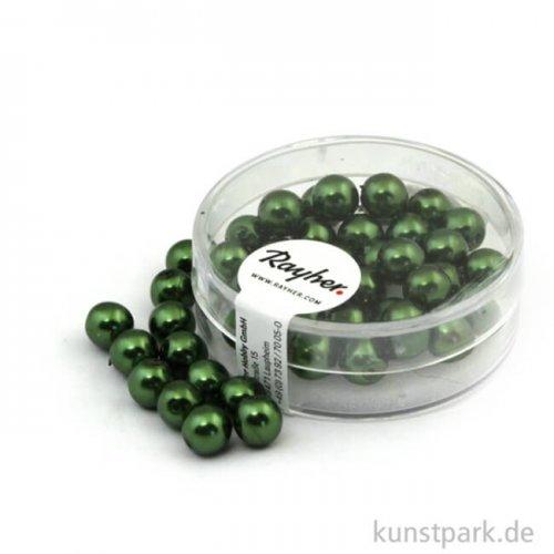 Renaissance Glaswachsperlen - 6 mm 45 Stk. | Smaragd