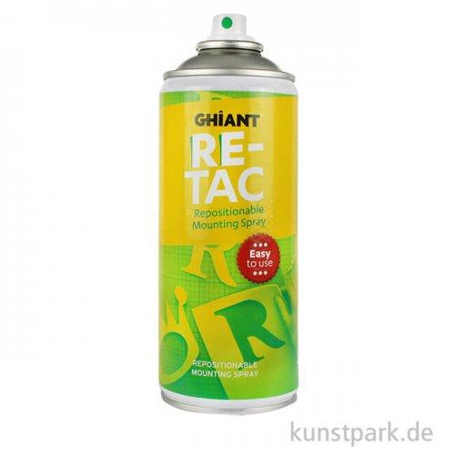 RETAC Sprühkleber 400 ml Dose lösbar und wiederverklebbar