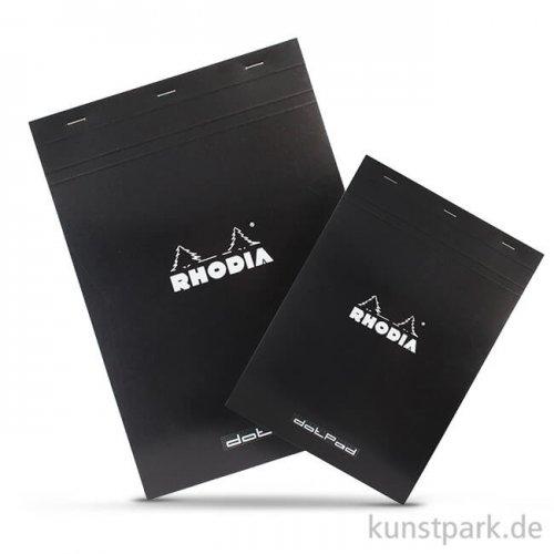 Rhodia dotPad Zeichenblock - Schwarz, 80g, 80 Blatt