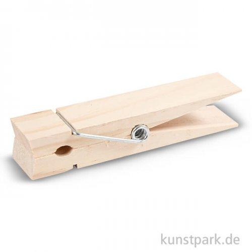 Riesen-Wäscheklammer aus Holz, 15 cm, Breite 3,5 cm