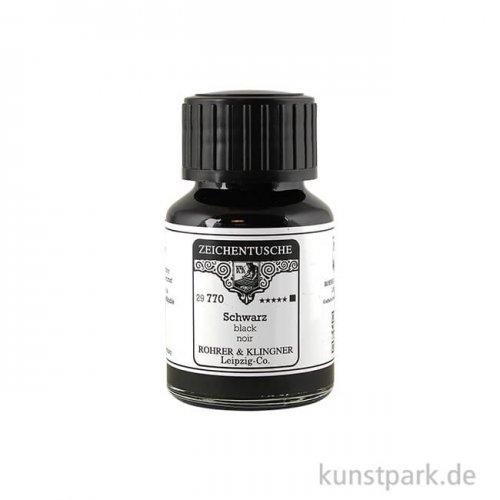 Rohrer & Klingner Zeichentusche - 770 Schwarz 50 ml
