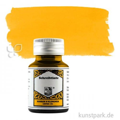 Rohrer & Klingner Schreibtinte 50 ml Einzelfarbe | 210 Helianthus
