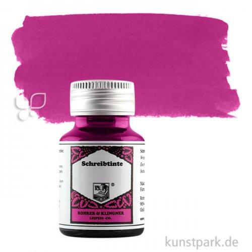 Rohrer & Klingner Schreibtinte 50 ml Einzelfarbe | 320 Magenta