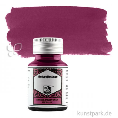 Rohrer & Klingner Schreibtinte 50 ml 50 ml | 330 Alt Bordeaux