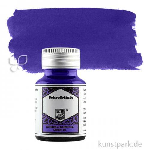 Rohrer & Klingner Schreibtinte 50 ml Einzelfarbe   450 Blau permanent