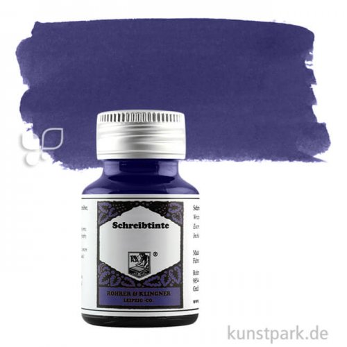 Rohrer & Klingner Schreibtinte 50 ml 50 ml | 711 Eisen-Gallus Salix