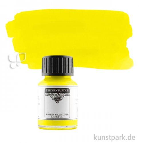 Rohrer & Klingner Zeichentusche 50 ml 50 ml | 701 Gelb