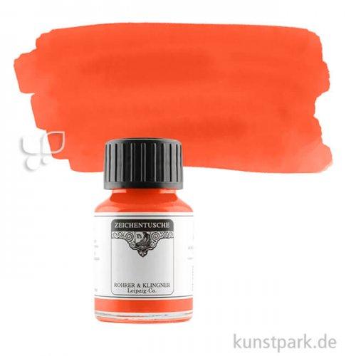 Rohrer & Klingner Zeichentusche 50 ml Einzelfarbe   730 Scharlach
